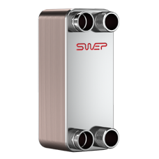 Теплообменник пластинчатый паяный SWEP B12MTx20/1P-SC-S